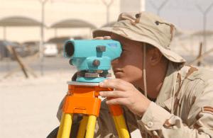 Auto level surveying