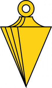 plumb bob used for centering in surveying