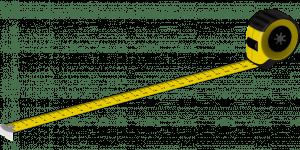 Measuring tape surveying