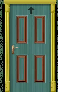door design in wood